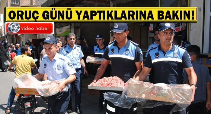 Urfa'da Tarihi geçmiş etleri ramazan günü millete yedireceklerdi