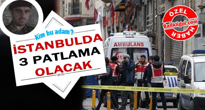 Kim bu adam? İstanbul'da 15 Hazirana kadar 3 saldırı olacak!