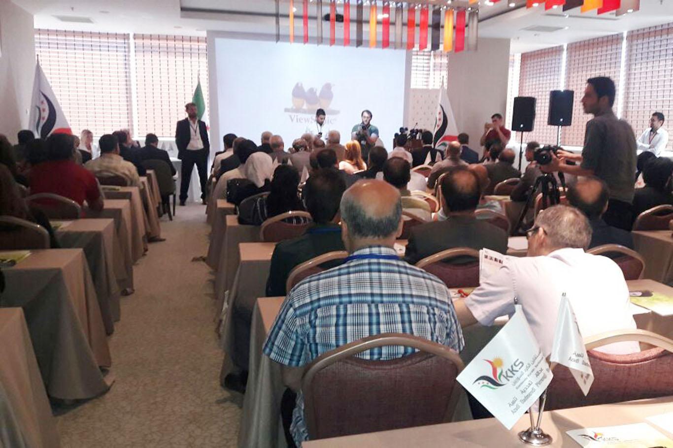 PYD Muhalifi olan Suriyeli Kürtlerin toplantısı Urfa'da başladı