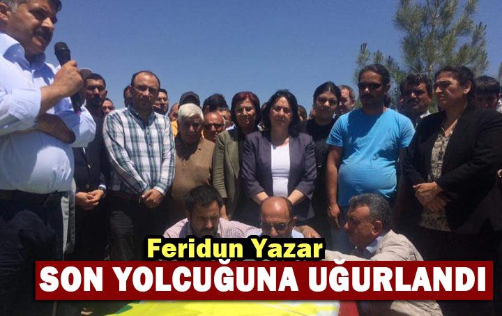 Feridun Yazar Urfa'da defnedildi
