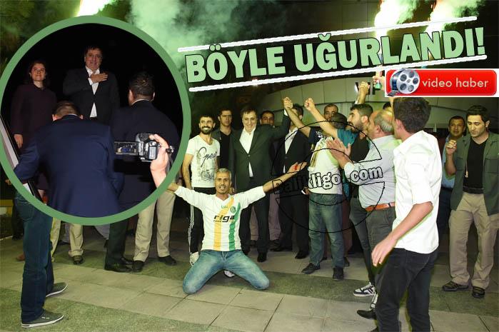 Urfalılar Vali Küçük'ü Bursaya uğurladılar