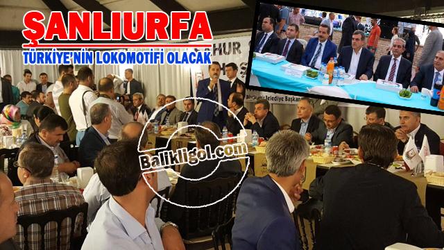 Bakan Çelik Ramazanı Urfa'da yaşadı
