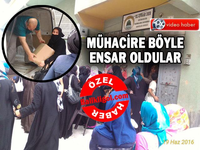El-Ensar Der onlarca aileye gıda yardımında bulundu
