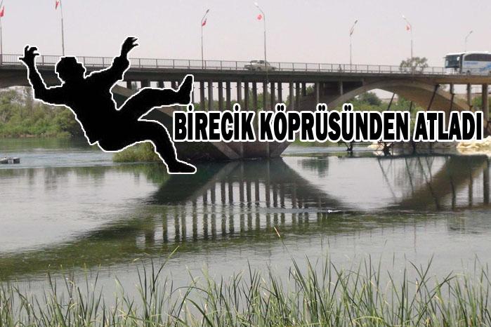 Genç Kızın İntihar Girişimi! Urfa Birecik Köprüsünden atladı