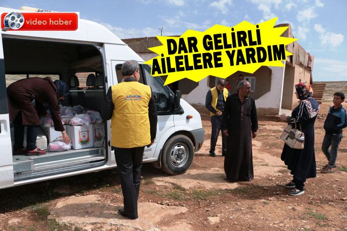 Büyükşehir'den Dar Gelirli Ailelere Yardım
