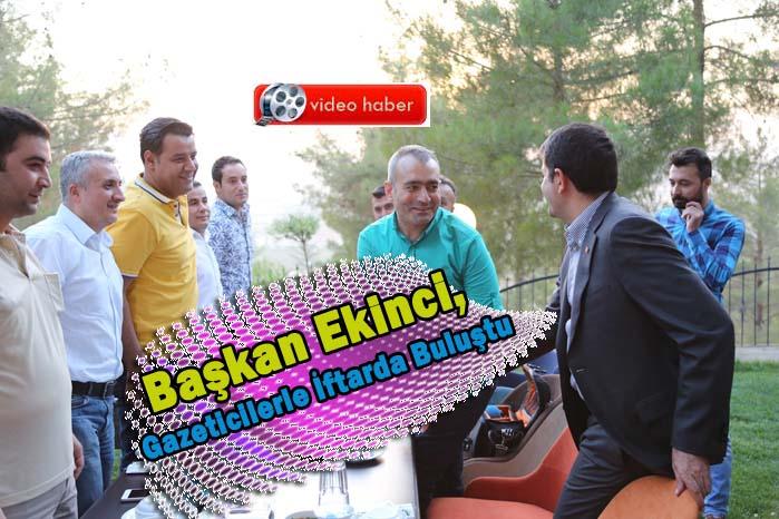 Eyyübiye Belediyesinden Gazetecilere İftar!