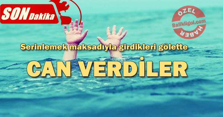 Urfa'da Serinlemek için suya giren 2 çocuk buğuldu