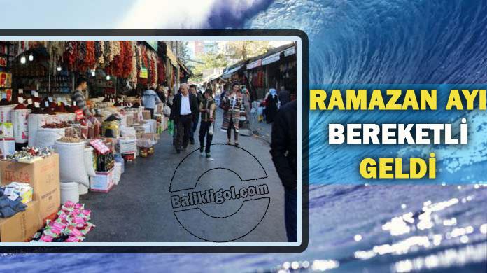 Ramazan Ayı Urfa Esnafının Yüzünü Güldürdü