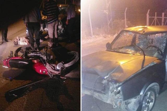 Urfa'da Otomobil ile motosiklet çarpıştı: 2 yaralı