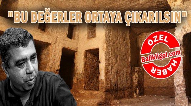 Urfa'da gün yüzüne çıkarılmayı bekleyen kaya mezarları ve mozikler var