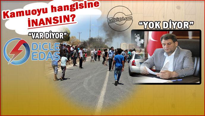 DEDAŞ Kaçak Diyor, Siyasetçiler Değil Diyor!