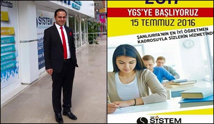 Eğitimin yeni adresi sistem özel öğretim kursu Şanlıurfa nın emniyet caddesinde açıldı.