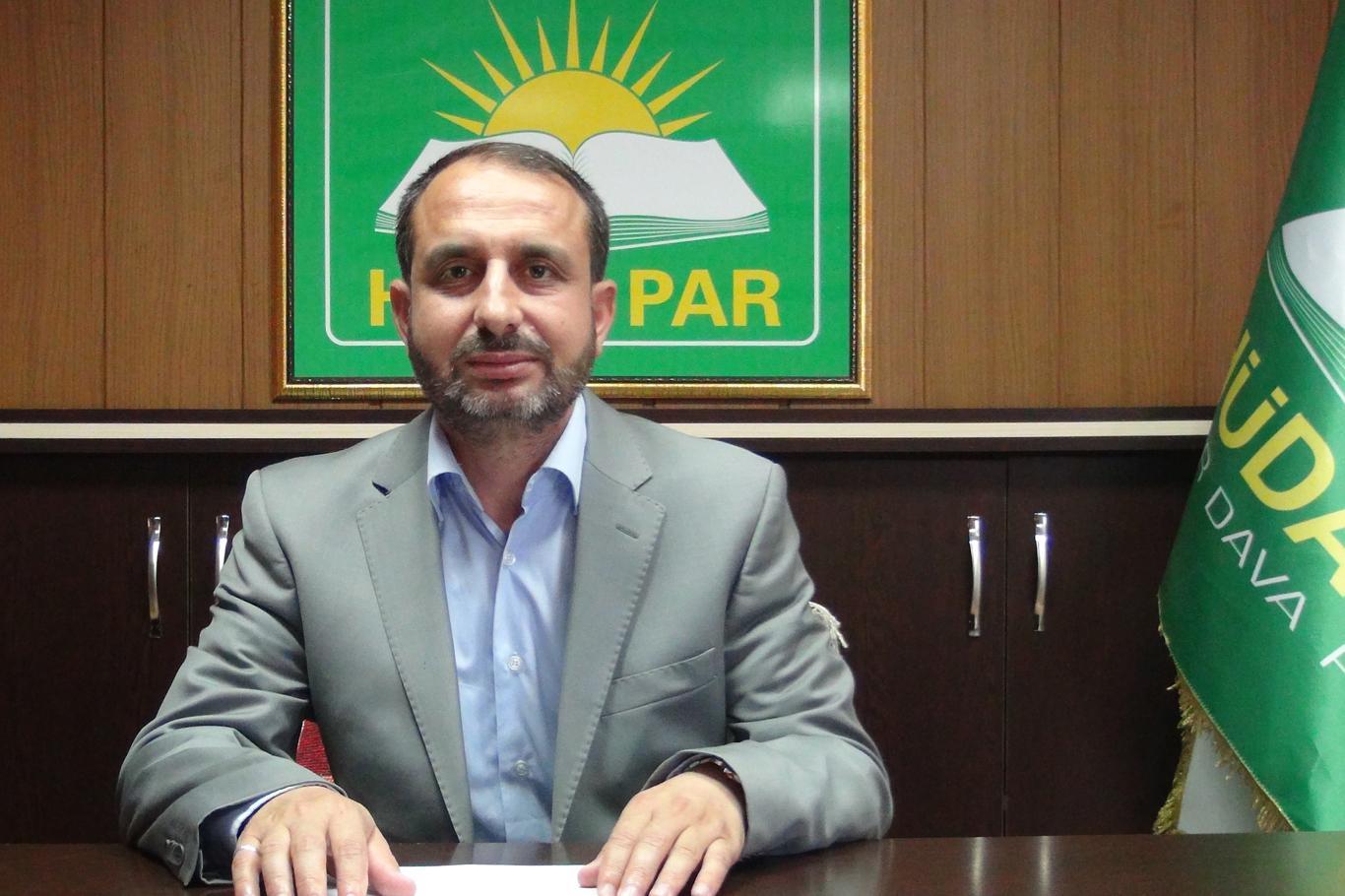 HÜDA PAR sözcüsü: hükümetin yanındayız