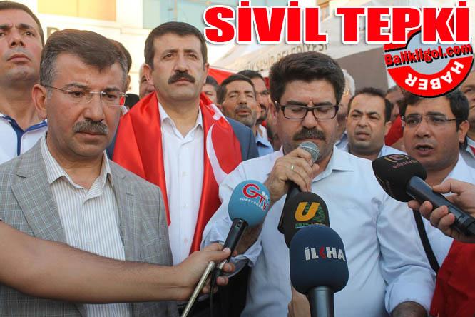 Urfa STK'larından sivil tepki