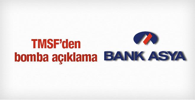 TMSF el koydu! Bank Asya'nın faaliyetleri durduruldu