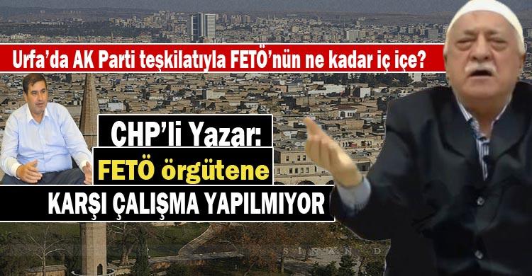 Yazar: Büyükşehir ve ilçe belediyelerdeki FETÖ'cülar temizlensin!