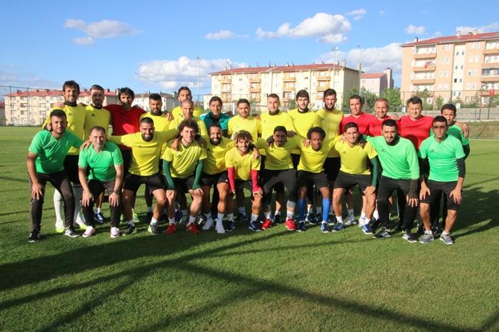 Urfaspor Erzurum'da 2. etap çalışmalarına başladı