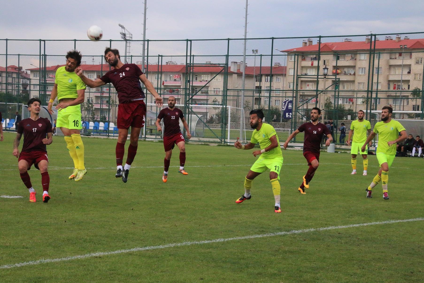 Şanlıurfaspor hazırlık maçında Hatayspor'la karşılaştı