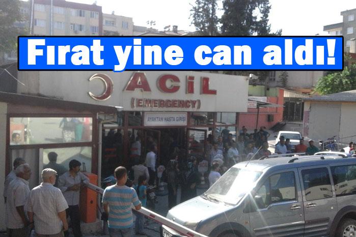 Fırat yine can aldı! 27 yaşındaki genç Fırat'ta boğuldu