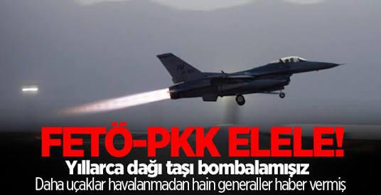 Yuh artık! FETÖ'cü general PKK için istihbarat sağlamış