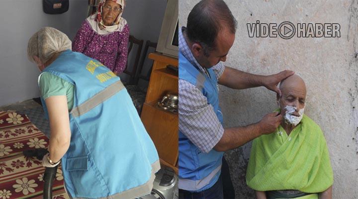 Haliliye Belediyesi Yardıma Muhtaç Ailelerine yardıma koşuyor