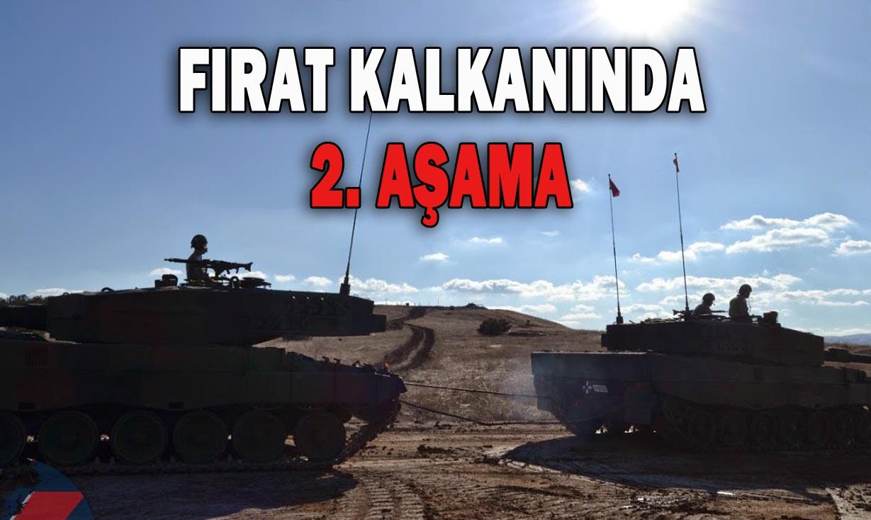 Türk Tankları Halep'e dayandı