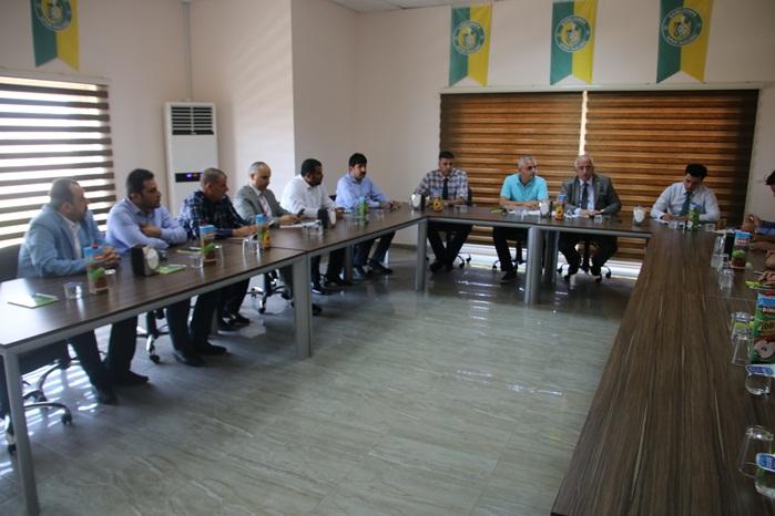 Vali Tuna Şanlıurfaspor yönetim kurulu toplantısına katıldı
