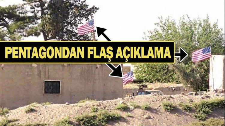 Akçakale Sınırındaki Tel Abyad'ta ABD bayraklarını kim astı?