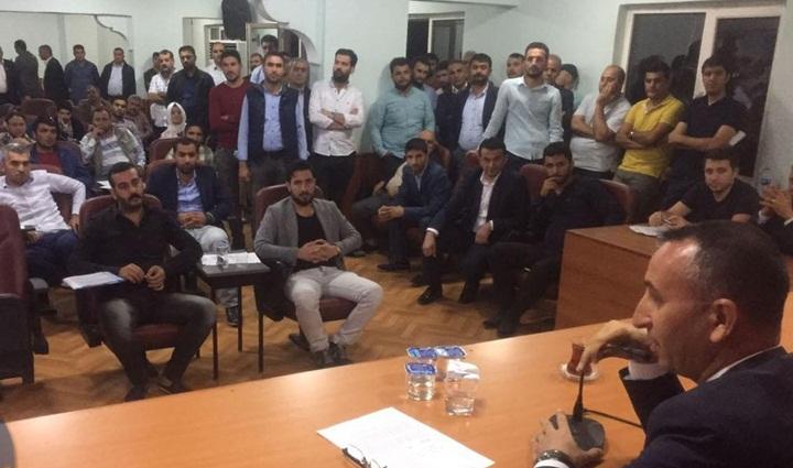 Siverek'te Müteahhitler belediye meclisinde imar sorunlarını dile getirdi