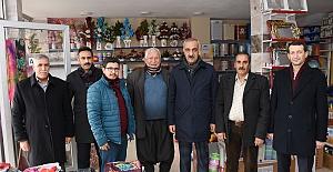 Başkan Aslan Ali Bayık Esnaf Ziyaret...