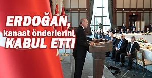 Erdoğan#039;nın kanaat önderleri...