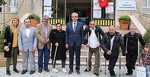 Ortopedik Engelliler Derneğinden Başkan Demirkol'a Teşekkür Ziyareti