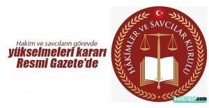 14 Mart 2019 Hakimler Ve Savcılar Kurulu KararlarıYayınlandı