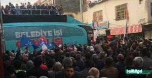 AK Parti Ceylanpınar'a adeta çıkarma yaptı