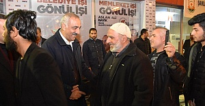 Başkan Aslan Ali Bayık'a Hacı Musa Aşiretinden Büyük Destek