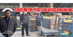 Faruk Akbaş'tan flaş sebze meyve fiyat açıklaması