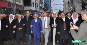 Karakeçili ve Beheman Aşiretinden Salih Ekinci'ye destek