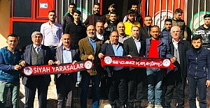 Karaköprü Belediyespor, Taraftarlar Derneğini Ziyaret Etti
