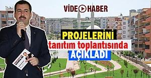 Metin Baydilli, Karaköprü için hangi projeleri hazırladı