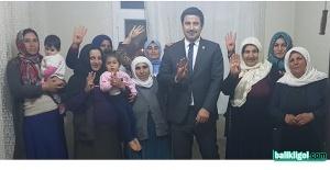 Milletvekili İbrahim Halil Yıldız Suruç'ta çalışmalarını sürdürüyor