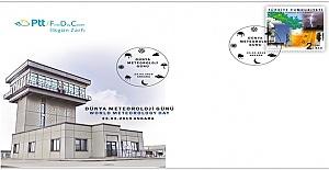 PTT, Dünya Meteoroloji Günü Dolayısıyla Anma Pulu Bastı