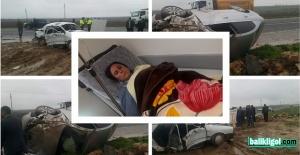 Şanlıurfa Milletvekili Ayşe Sürücü Kaza Yaptı