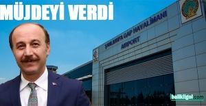 Şanlıurfa Valisi Abdullah Erin uçak...