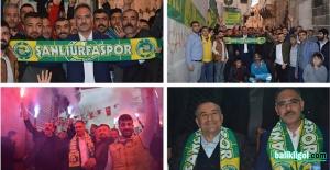 Şanlıurfaspor Taraftarlarından Mehmet Kuş'a destek