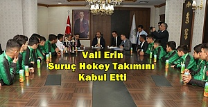 Suruç Hokey Takımı Avrupa'da Şanlıurfa'yı temsil edecek