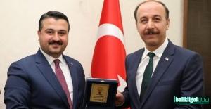 AK Parti İl Başkanı Yıldız'dan Vali Erin'e ziyaret