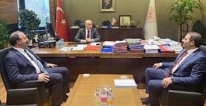 Başkan Canpolat, Göbeklitepe İçin Ankara'da Temaslarda Bulundu
