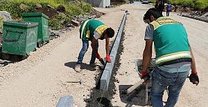 Karaköprü Seyrantepe'ye yol yapılıyor