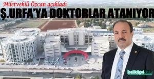 Milletvekili Özcan açıkladı; Urfa#039;ya...