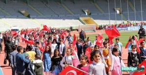 Şanlıurfa'da 23 Nisan Ulusal Egemenlik ve Çocuk Bayramı coşkuyla kutlandı